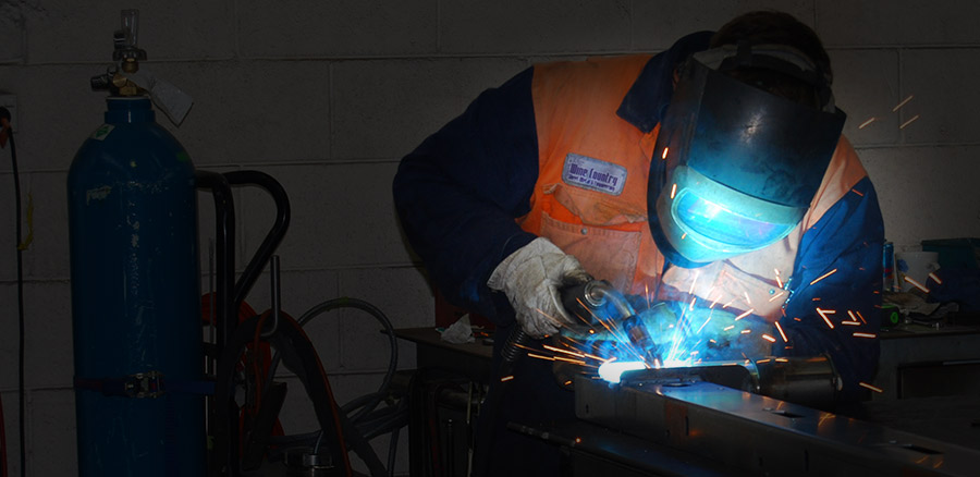 Industrial Mig welding fabrication