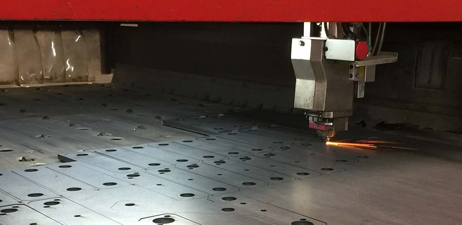 Industrial steel laser cutter